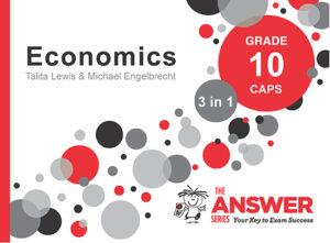 Grade 10 Economics - Study Guide