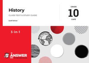 Grade 10 History - Study Guide