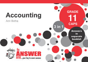 Grade 11 Accounting - Study Guide