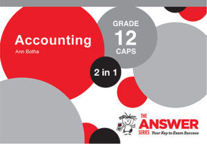 Grade 12 Accounting - Study Guide