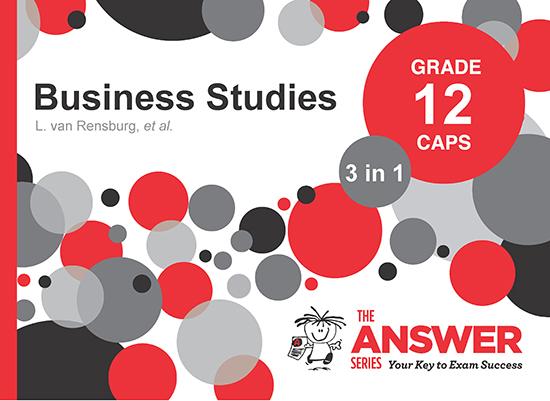 Grade 12 Business Studies - Study Guides