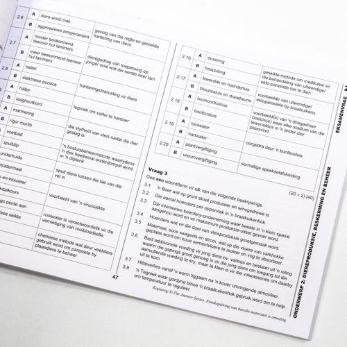 Grade 12 LANDBOUWETTENSKAPPE - Study Guide
