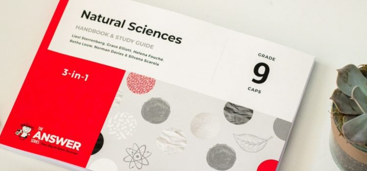 The Grade 9 Natural Sciences Study Guide is here!